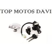 Kit Jogo Travas Chave Ignição Honda Nx 150