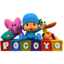 Kit Imprimible Candy Bar Pocoyo Full Fiesta
