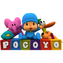 Kit Imprimible Candy Bar Pocoyo Full Fiesta 3x1