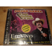 Julian Garza El Viejo Paulino Cd Y Dvd En Vivo Desde Houston