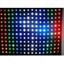 Painel Cortina Led Rgbw 3,00m Por 2,50m Com Sensor De Som
