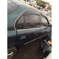 Pestana Porta Honda Civic 1998 A 2000 Traseira Direita