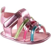 Luvable Amigos De Los Bebés Recién Nacidos Sandalias Metálic