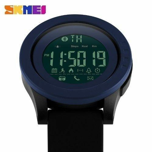 1db891c107f Relogio Skmei 1255 Smartwatch Bluetooth Pedometro - R  100