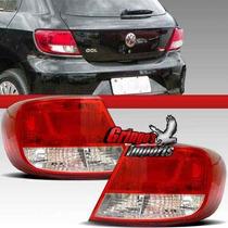 Lanterna Traseira Gol G5 2008 2009 2010 2011 2012 Re Cristal