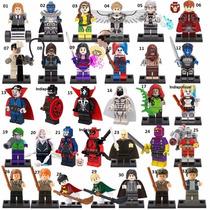 Kit 3 Bonecos Lego Marvel Esquadrão Suicida Harry Potter