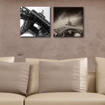 Cuadros Decorativos 2 Pz 30x30 Torre Eiffel