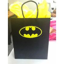 Bolsa Para Fiesta Infantil Batman