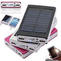 Cargador Portátil Celular Solar 20000mah Powerbank Oferta