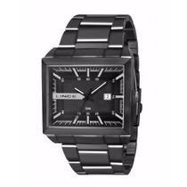 Relógio X Games Aço Preto Calendário Mqn4267s Wr 100metros/
