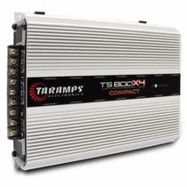 Módulo Amplificador Taramps Ts800 X4 800w Rms Digital 2 Ohms