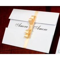 Convite De Casamento Tradicional Muito Barato Mais Brinde