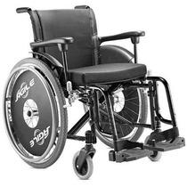 Cadeira De Rodas Desmontavel Cor Preta, ( Modelo Agile)