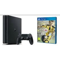 Playstation 4 Ps4 500gb Modelo Slim Fifa 2017 Original Sony