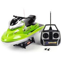 Lancha Barco Controle Remoto Jet Ski Rc 7003 2.4ghz Lindo.