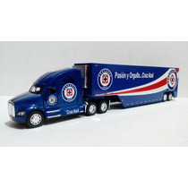 Trailer Kenworht T700 Club Cruz Azul Esc. 1:68