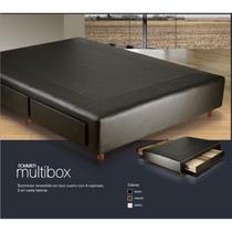 Somier 140x190 2 Plazas Con 4 Maxi Cajones Sommier Cama Box
