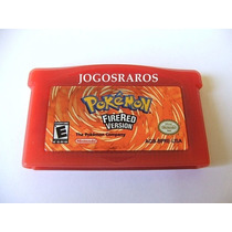 Pokemon Fire Red Original Americano!!