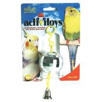 Jw Pet Empresa Activitoy Disco Ball Pájaro Pequeño Juguete,