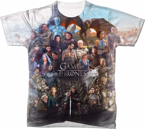 81dbeeed8 Camisa Camiseta Manga Curta Blusa Serie Game Of Thrones Got - R  54 ...