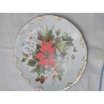 Prato Decorativo De Porcelana Schmidt