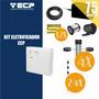 Kit Cerca Elétrica Para 75 Metros Completo Ecp