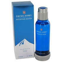 Perfume Swiss Army Mountain Water 100ml. Original Con Garant