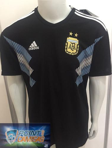 b4014bdf6d Camisa adidas Argentina Away 2018 Copa Da Russia Oficial - R  130