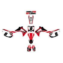 Kit Calcos Graficas Honda Crf 250/450 - All Years Tntcalcos
