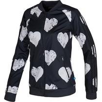 Campera Adidas Originals Mujer Heart Black