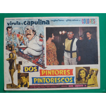 Viruta Y Capulina Dos Pintores Pintorescos Cartel De Cine