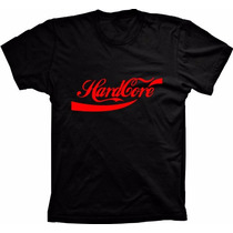 Camiseta Hardcore Camisa Masculina Bonita Barata Geeks Swag