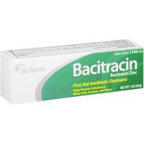 Actavis: Ungüento Antibiótico Bacitracina De Primeros Auxili