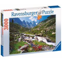 Rompecabezas Ravensburger 3000 Piezas Austrian Mountains