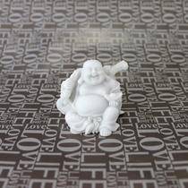 Buda Gordo Prosperidade Pó De Mármore 5cm Alt. X 5cm Larg.
