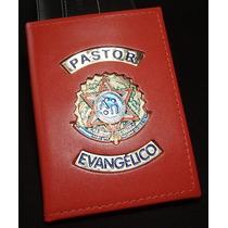 Porta Funcional Carteira Autoridade Eclesiastica,pastor Etc.