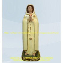 Escultura Nossa Senhora Rosa Mistica Linda Imagem 45cm Ml