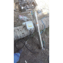 Perforacion De Pozo Profundo 15 M Con Bomba 1/2 Hp