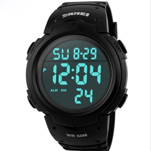 2734578fa61 Relógio Skmei 1068 Led Digital Esportivo Promoção + Brinde - R  59 ...