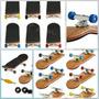 Skate De Dedo Profissional, Fingerboard, Madeira, Rolamento