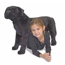 Perro Perrito Labrador Negro De Peluche Niños Melissa & Doug