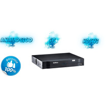 Gravador Digital De Vídeo Tribrido Dvr Hdcvi 1016 Intelbras