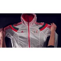 Chamarra Rompevientos México Adidas Anthem S, M, L Y Xl