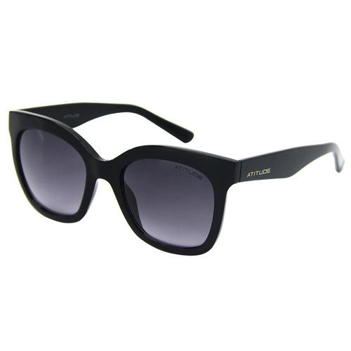 a0ad58aa6 Óculos Feminino De Sol Atitude 5307 - Promoção - R$ 184,37 em ...