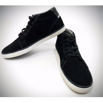 Zapatillas Dc Council Mid (blk) Impecables De Cuero!
