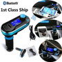 Bluetooth Coche Mp3 Player Fm Transmisor Modulador Kit De