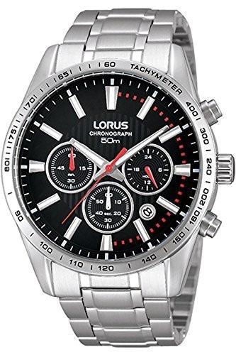 62f6a07874cf Reloj Seiko Para Hombre Rt343dx9 Lorus Tablero Color Negro ...