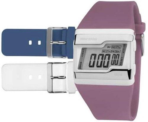 1ad01e15b7 Relógio Mormaii Digital Esportivo Troca Pulseiras Fzu 8c - R  135