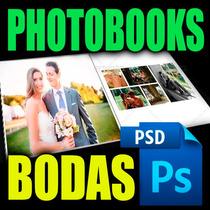 Photobooks Boda +325 Plantillas Photoshop Preciazo +regalos