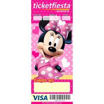 Invitaciones Infantiles Ticket-master